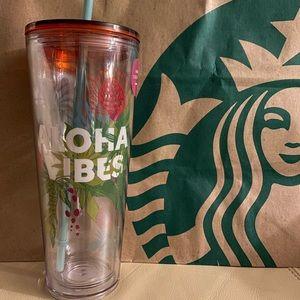 Starbucks Aloha Vibes Hawaii Tumbler